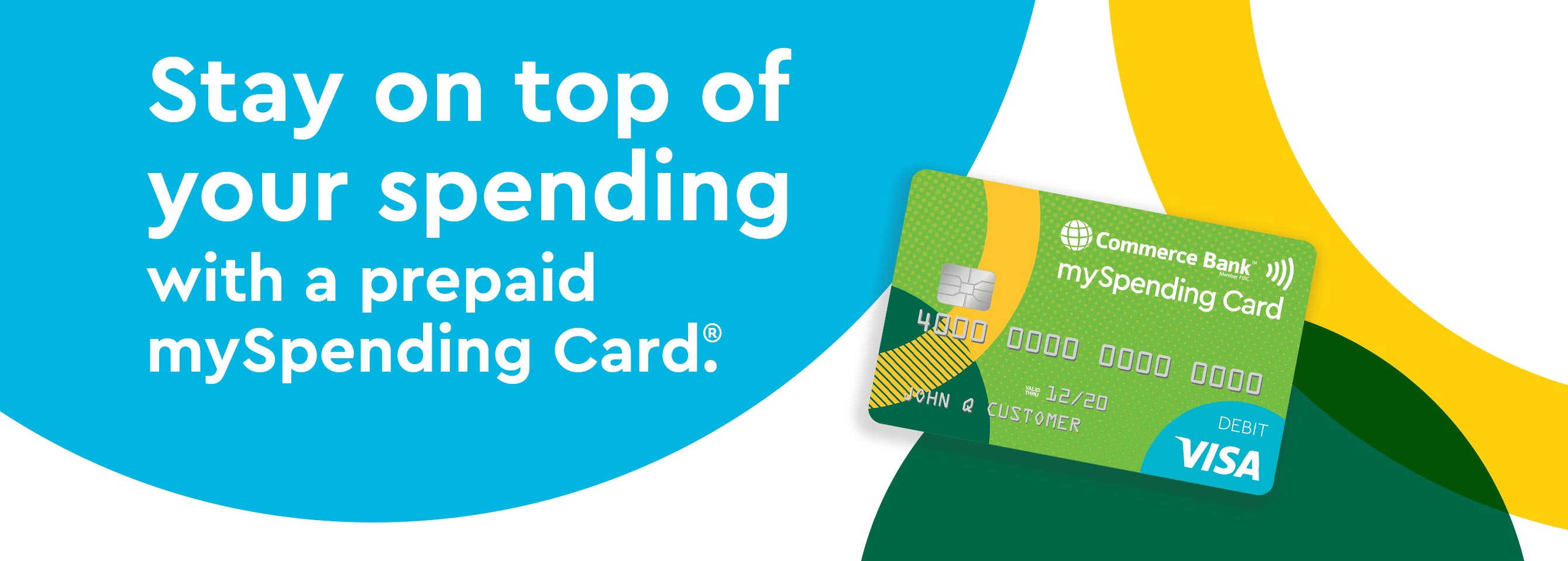 Stay on top of your spending with the mySpending Card